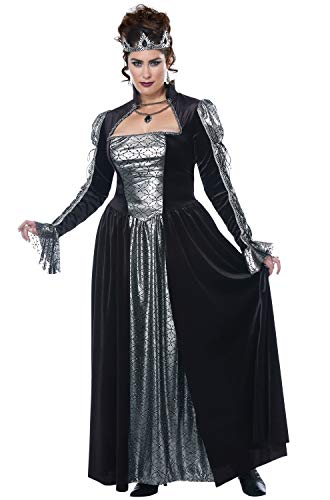(Womens Plus Size Dark Majesty Queen Costume Size XXL)