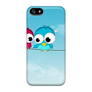 Hot KXzKmLX3647TCWdV Lovers Quarrel Tpu Case Cover Compatible With Iphone 5/5s