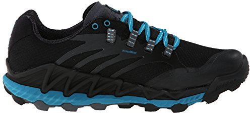 All Merrell Black Out Blue de Peak Femme Algiers Noir Chaussures Trail TdR1qw