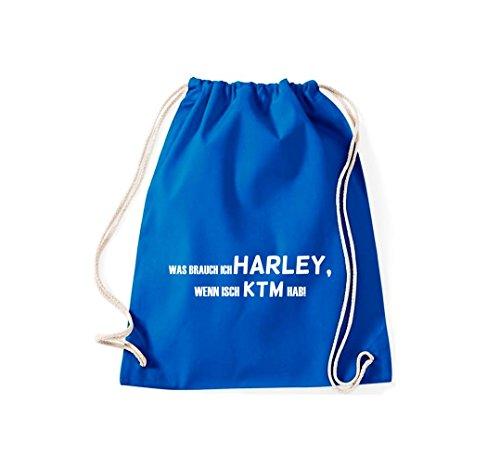 Turn Bolsa; Rompa Was Ich Harley, Si isch KTM hab., rosa, 46 azul real