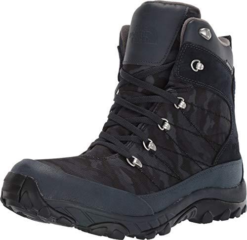 The North Face Men's Chilkat Nylon Boot, Urban Navy/TNF Black Woodland Camo Print, 12 D