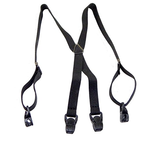 51d4f84e9 Hold-Ups 30   Toddler size x-back Black Holdup Brand Suspenders with ...