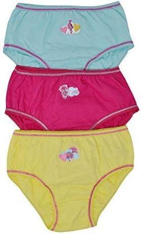 Aumsaa Girls Trolls Characters 100% Cotton Briefs Underwear Slips Knickers  3 Pack: Amazon.co.uk: Clothing