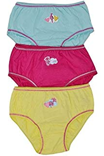 Aumsaa Girls Princess Kids Characters 100/% Cotton Briefs Underwear Slips Knickers 3 Pack