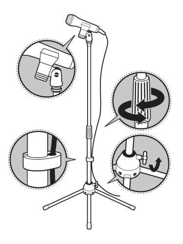 Universal Microphone Stand