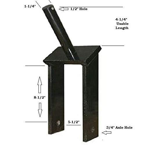 Tail Wheel Fork Yoke 1.25