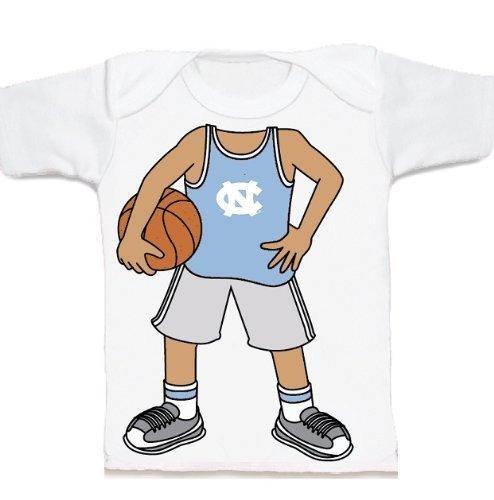 North Carolina UNC Tar Heels Heads Up! Basketball Infant/Toddler T-Shirt