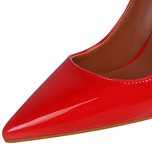 Zapatos Charol del Mujer puntiagudo pie de tac Dedo XvvRn7qgU
