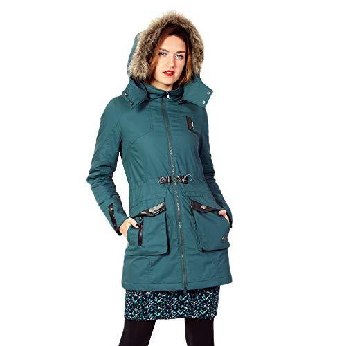 ZERGATIK Abrigo ZERGATIK Abrigo PIKU Abrigo Mujer Mujer Blue PIKU Blue ZERGATIK qqXAwZ6n