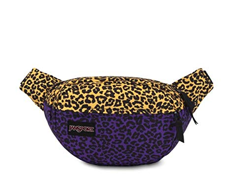 JanSport Fifth Ave Fanny Pack, PLL/Purple Leopard Life