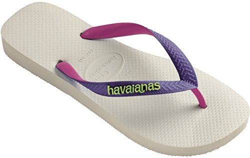 Top Infradito ragazza bianco Havaianas viola Bambino Bianco Mix Atwzfq8