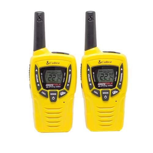 Cobra CX335 Walkie Talkies 23-Mile Two-Way Radios (Pair)