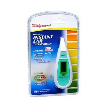 Walgreens Instant Ear Thermometer, 1 ea