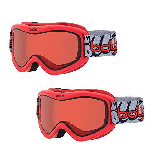 bd1ad4341d3 Bolle Volt Snow Ski Goggles for Kids Ages 6+