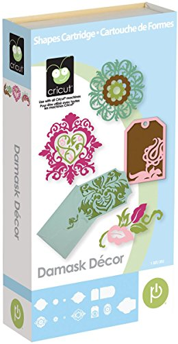 - Cricut 2001009 Damask Decor Cartridge