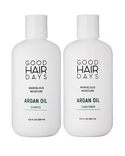 Moroccan Argan Oil Moisturizing Shampoo Conditioner 85 Oz Safe For Colored Hair Extensions Keratin Treated Hair Sulfate Free Paraben Free W Heat Styling UV Protection