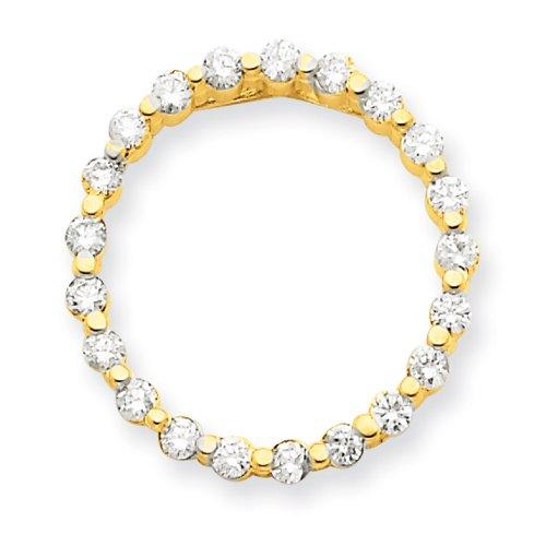 Jaune 14 carats-Diamant-JewelryWeb