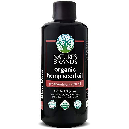 - Herbal Choice Mari Organic Hemp Seed Oil - Pure, Unrefined, Cold Pressed - High in Omega 3-6-9 Fatty Acids - Reduces Inflammation - Relief for Dry, Cracked Skin, Eczema & Psoriasis - 3.4 fl oz