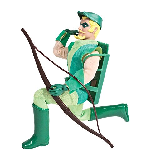 DC Comics Super Powers Series 1 Green Arrow 8 Inch Retro Action Figure (Retro Action Figures)