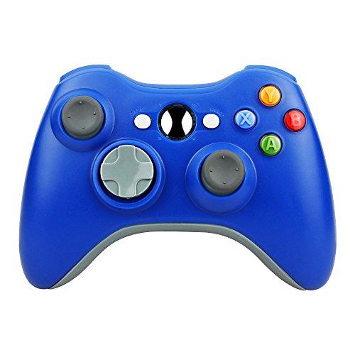 Cheap Kycola Xbox 360 Controller GC12 Wireless Controller Xbox 360 Wireless Gamepad For PC/Xbox 360(Blue)