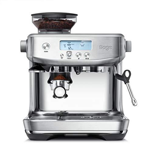 SAGE SES878BTR the Barista Pro, Cafetera espresso, Cappuccinatore, 15 Bar, Acero Inoxidable