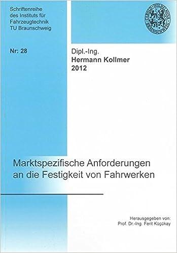 Book Marktspezifische Anforderungen an die Festigkeit von Fahrwerken