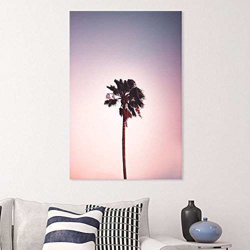 Romantic View of Lone Tall Palm Tree Gallery