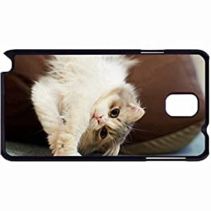 New Style Customized Back Cover Case For Samsung Galaxy Note 3 Hardshell Case, Back Cover Design Cute Cat Personalized Unique Case For Samsung Note 3