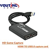 HDMI to USB 3.0 Video Game Capture | HDMI Video External Game Capture