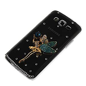 SHIDU Bling Diamante Funda Carcasa Caso Tapa Case Cover para Samsung Galaxy Grand 2 G7106