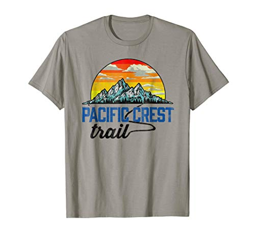 Pacific Crest Trail - Vintage Distressed Graphic Tee Shirt