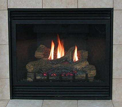 amazon com deluxe 36 direct vent lp millivolt fireplace rh amazon com direct vent gas fireplaces for sale direct vent natural gas fireplaces for sale