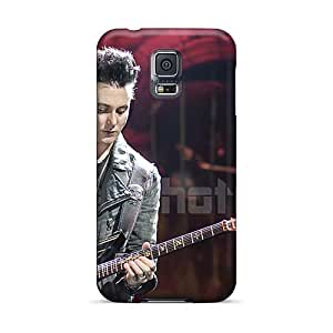 Shockproof Hard Phone Covers For Samsung Galaxy S5 With Customized Attractive Avenged Sevenfold Series PhilHolmes