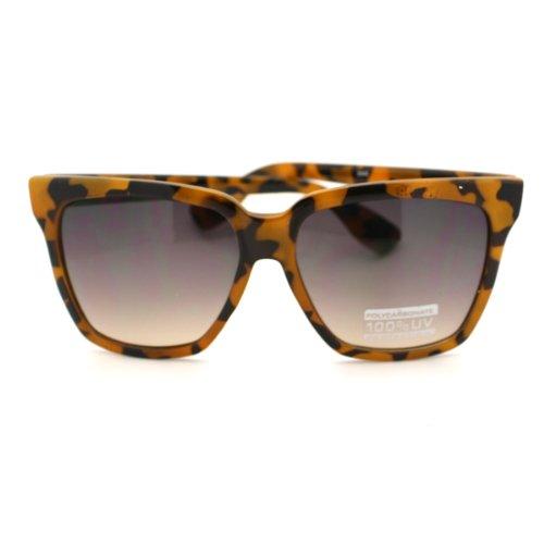 Turtle Shell Oversized Thick Horn Rimmed horned Variant - Shell Sunglasses Turtle