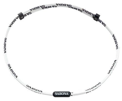 Sabona Athletic Magnetic Necklace, White