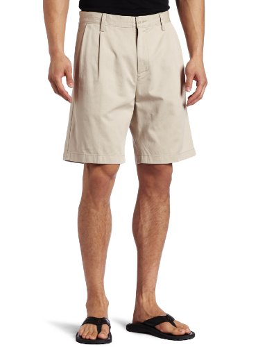 Nautica Men's Anchor Double Pleat-Front Short