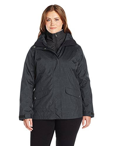Columbia Women's Plus-Size Sleet To Street Interchange Ja...
