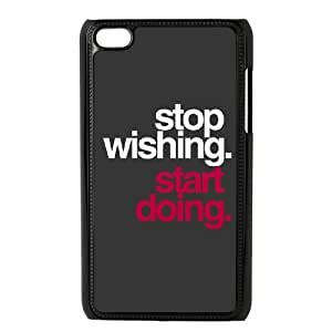 Start Doing High Qulity Customized Cell Phone Case for iPod Touch 4, Start Doing iPod Touch 4 Cover Case