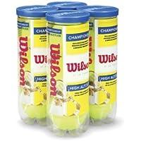 Wilson Champ Hi-Alt - Pelota de Tenis (4 Unidades)
