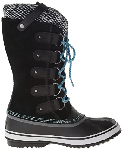Sorel Joan of Arctic Knit Damen Stiefel Schwarz (Noir (010 Black))