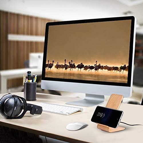 10W高速ワイヤレス充電器、QIワイヤレス充電スタンド、互換性のあるサムスンS10 / S10 + /ノート10 / S9 / S8 / iPhone 11/11プロ+ / XR/のX最大/X / 8 +