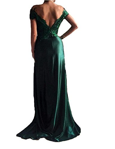 Split XingMeng Gowns Prom Black Shoulder Dresses Off Formal Evening Appliques tqFqUn4
