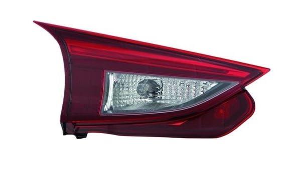 Left Right Sides Pair Rear Brake Tail Lights for 2007-2009 MAZDA 3 SEDAN 4-DOOR