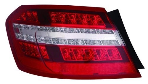 (Go-Parts OE Replacement for 2010-2013 Mercedes-Benz E350 Rear Tail Light Lamp Assembly/Lens/Cover - Right (Passenger) Side Outer - (212.087 Body Code; Sedan + 212.056 Body Code; SED)