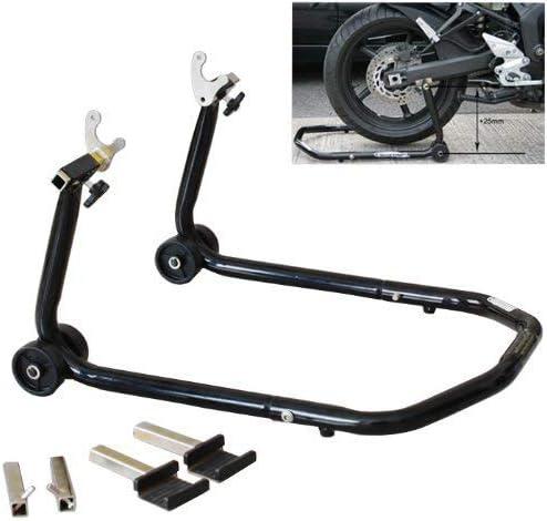MILLION PARTS Pair Front /& Rear Motorcycle Bike Auto Stand forklift Paddock Hook Swingarm Lift Universal