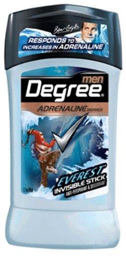 Degree Men, série Adrenaline, Invisible Déodorant Stick, Everest, 2.7Ounce (Pack de 2)