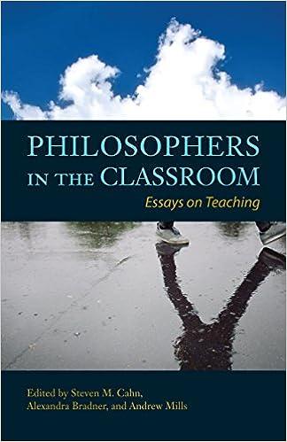 philosophers in the classroom essays on teaching steven m cahn  philosophers in the classroom essays on teaching steven m cahn  alexandra bradner andrew p mills  amazoncom books