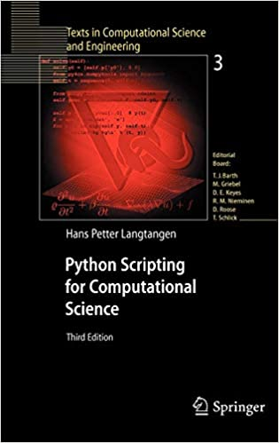 Python Scripting for Computational Science (Texts in Computational
