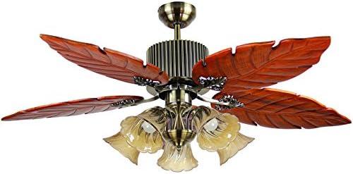 Ventilador de techo decorativos de estilo europeo de lujo, lámpara ...
