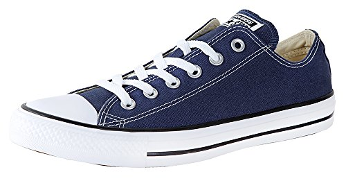 (Converse Chuck Taylor All Star Ox Navy 44 M EU / 12 B(M) US Women / 10 D(M) US Men)